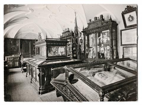Expozice v kapli sv. Václava v domě č. 33 na Velkém náměstí